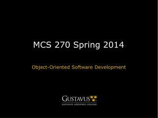 MCS 270 Spring 2014