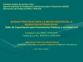 Comisión Andina de Juristas (CAJ)
