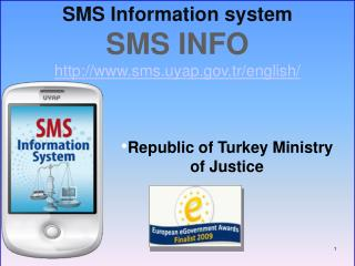 SMS Information system SMS INFO sms.uyap.tr
