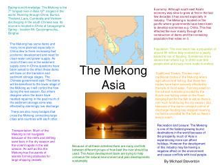 The Mekong Asia