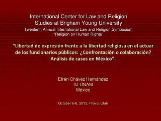 International Center for Law and Religion Studies at Brigham Young University