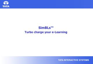 SimBLs™ Turbo charge your e-Learning