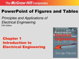 Chapter 1  Introduction to Electrical Engineering