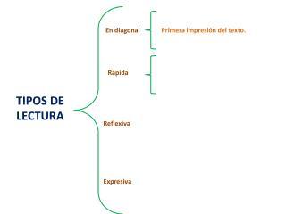 TIPOS DE LECTURA