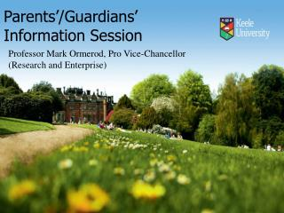 Parents'/Guardians'   Information  Session