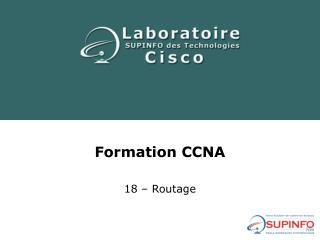 Formation CCNA