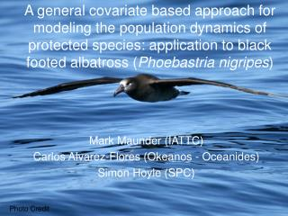 A general covariate based approach for modeling the population dynamics of protected species: application to black foote