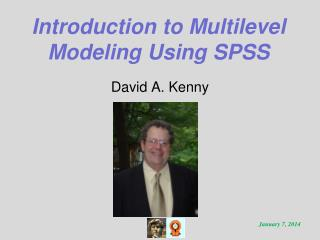 Introduction to Multilevel Modeling Using SPSS