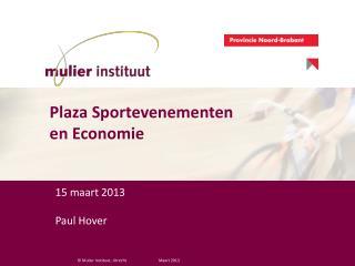 15 maart 2013 Paul Hover