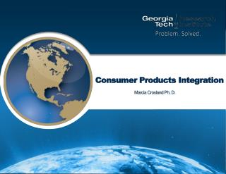 Consumer Products Integration