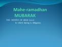 Mahe-ramadhan           MUBARAK