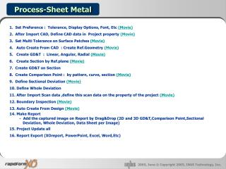 Process-Sheet Metal