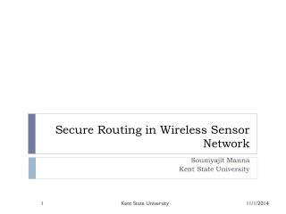 Secure Routing in Wireless Sensor Network