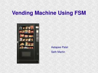 Vending Machine Using FSM
