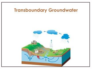 Transboundary Groundwater