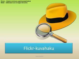 Flickr-kuvahaku