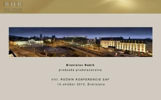Krátky exkurz svetom Best Hotel Properties a.s. (BHP)