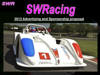 2013 Advertising and Sponsorship proposal