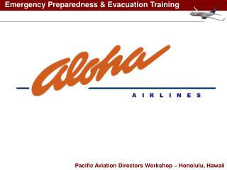 Pacific Aviation Directors Workshop