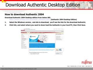 Download Authentic Desktop Edition