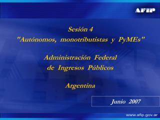Sesión 4