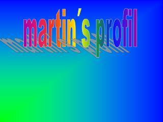 martin´s profil