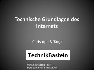 Technische Grundlagen des Internets