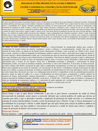 Drª Ana M. G.  Sperandio  - UNICAMP e FAJ/Grupo POLIS Educacional