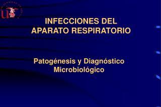 INFECCIONES DEL APARATO RESPIRATORIO