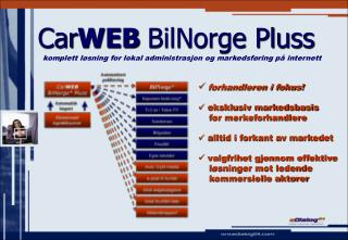 Car WEB  BilNorge Pluss
