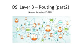 OSI Layer 3 – Routing (part2)