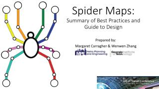 Spider Maps: Summary of Best Practices and Guide to Design