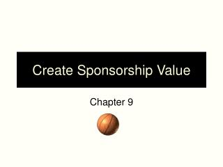Create Sponsorship Value