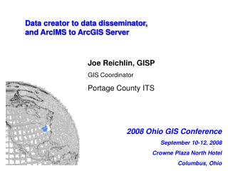 Data creator to data disseminator,  and ArcIMS to ArcGIS Server