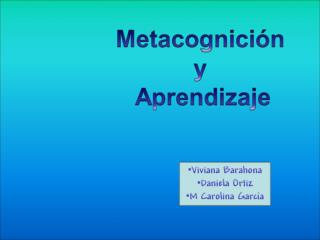 Metacognici�n  .