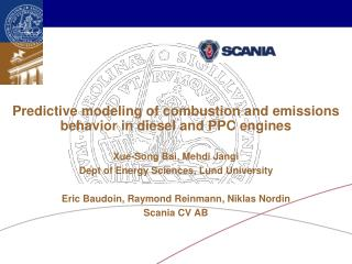Predictive modeling of combustion and emissions behavior in diesel and PPC engines
