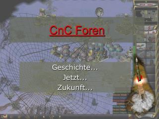 CnC Foren