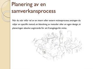Planering av en samverkansprocess