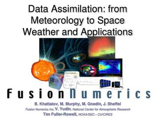 Data Assimilation: from Meteorology to Space Weather and Applications