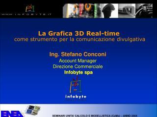 La Grafica 3D Real-time  come strumento per la comunicazione divulgativa