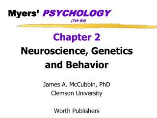 Myers'  PSYCHOLOGY (7th Ed)
