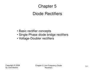 Chapter 5 Diode Rectifiers