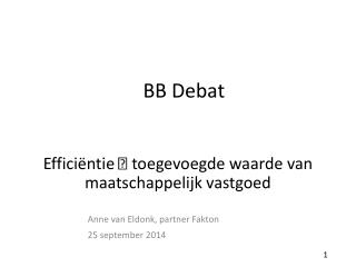 BB Debat
