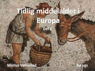 Tidlig middelalder i Europa