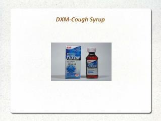 DXM-Cough Syrup