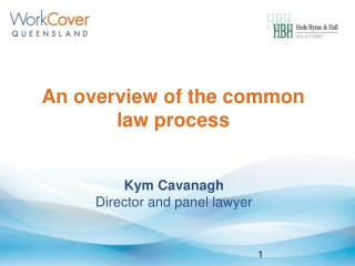 An overview of the common law process