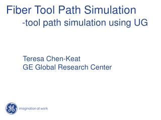 Fiber Tool Path Simulation -tool path simulation using UG