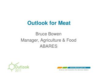Outlook for Meat