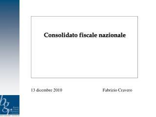 Consolidato fiscale nazionale