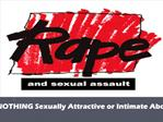 There is NOTHING Sexually Attractive or Intimate About Rape